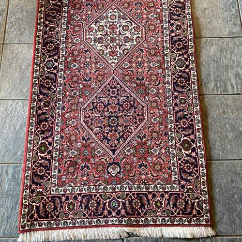 Superb Old Hand Knotted Persian Rug Bidjar Excellent Quality Piece image-2