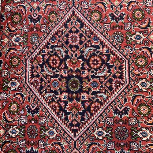Superb Old Hand Knotted Persian Rug Bidjar Excellent Quality Piece image-3