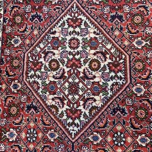Superb Old Hand Knotted Persian Rug Bidjar Excellent Quality Piece image-4