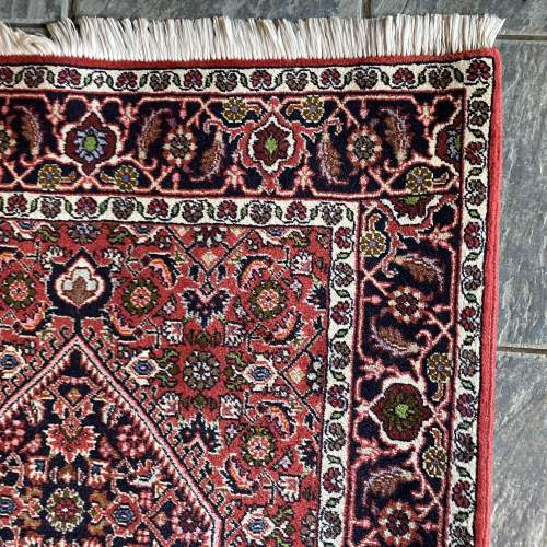 Superb Old Hand Knotted Persian Rug Bidjar Excellent Quality Piece image-5