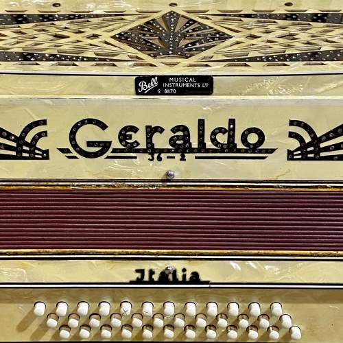 Geraldo Marbled Celluloid Accordian image-3
