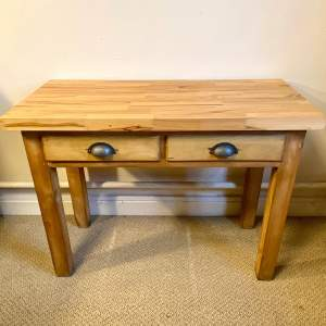 Victorian Pine Based Kitchen Preparation Table