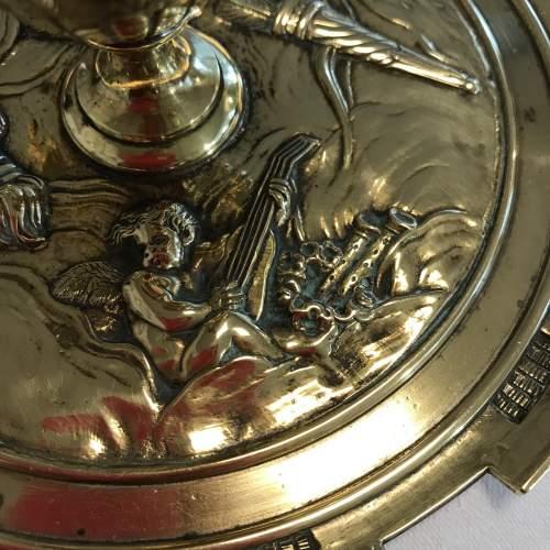 Decorative French Brass Inkstand image-3