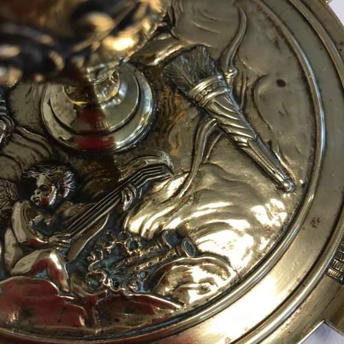 Decorative French Brass Inkstand image-4
