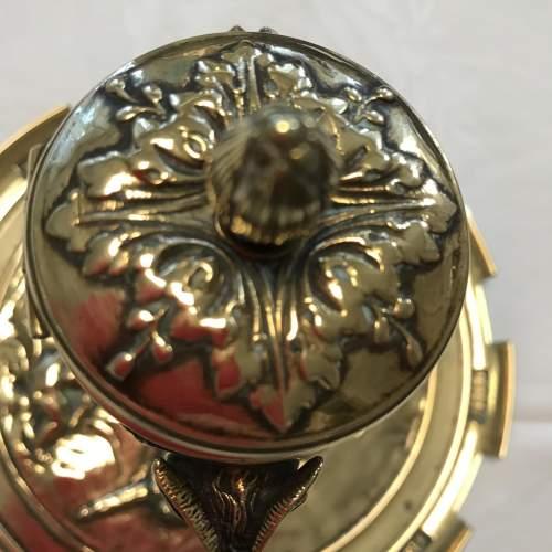Decorative French Brass Inkstand image-5