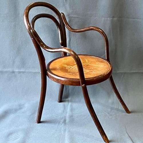 Fischel Childs Bentwood Nursery Chair image-1