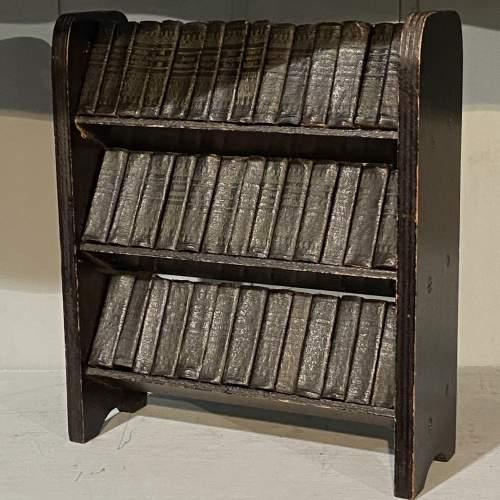 Set of 40 Miniature Leather Bound Shakespeare Classics image-1