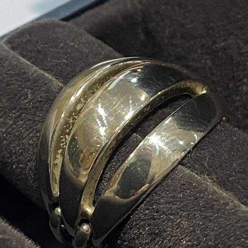 Georg Jensen Silver Melon Ring image-2