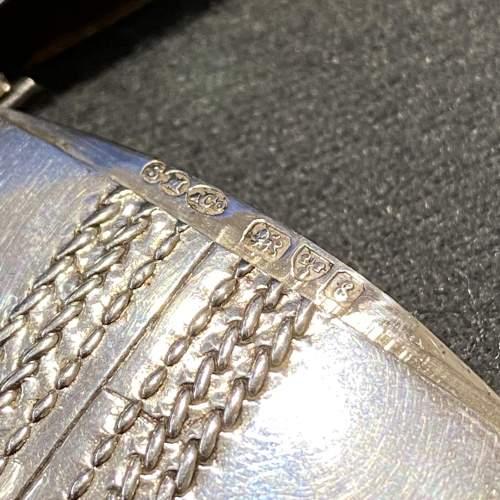 Edwardian Silver Cricket Ball Vesta Case image-6