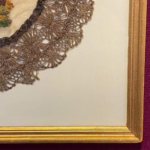 19th Century Hunting Scene Lace Panel image-4