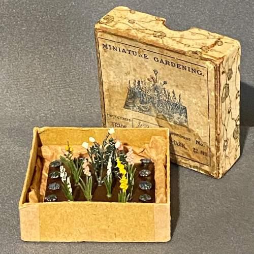 1930s Britains Miniature Garden Set image-1
