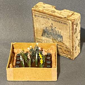 1930s Britains Miniature Garden Set