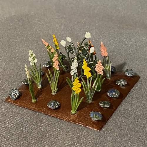 1930s Britains Miniature Garden Set image-4