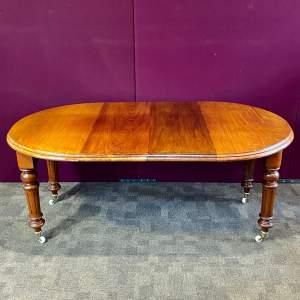 Victorian Extending Mahogany Dining Table