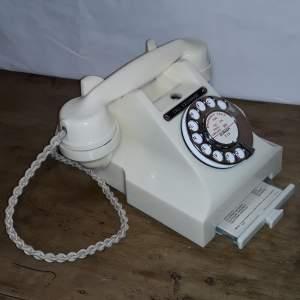 Vintage Ivory Bakelite 312L GPO Call Exchange Telephone