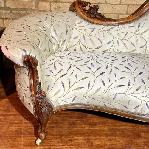 Good Quality Mid Victorian Chaise Longue image-2