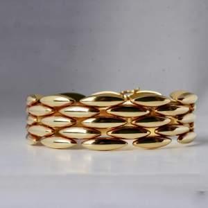 Cartier 1970s 18k Gold Bracelet