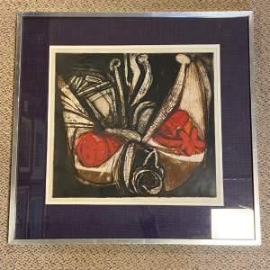 1961 Limited Edition Woodcut Epiphylium