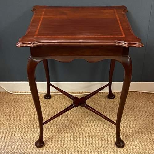 19th Century Victorian Mahogany Table image-1