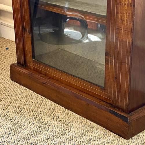 Victorian Inlaid Walnut Pier Cabinet image-3