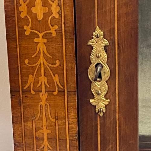 Victorian Inlaid Walnut Pier Cabinet image-5