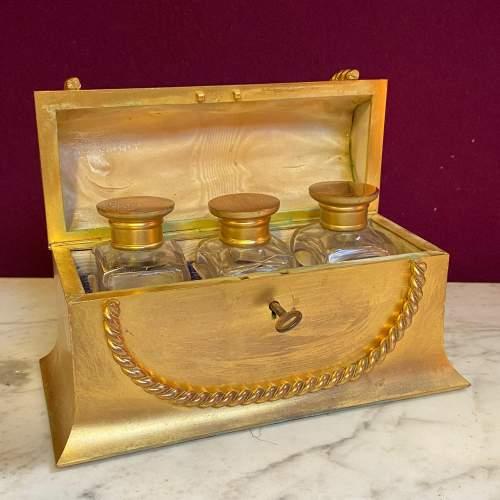 Quality Early 20th Century Ormolu Perfume Casket image-1