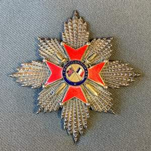 Franco-British Cross of Honour Breast Star Badge