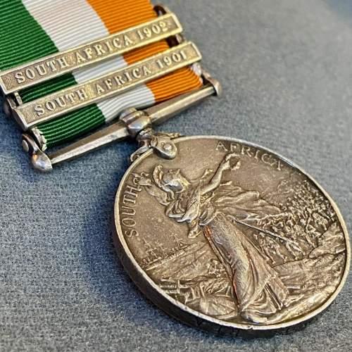 Edward VIII Kings South Africa Medal image-2