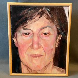 Portrait Oil on Canvas by Linda Ingham