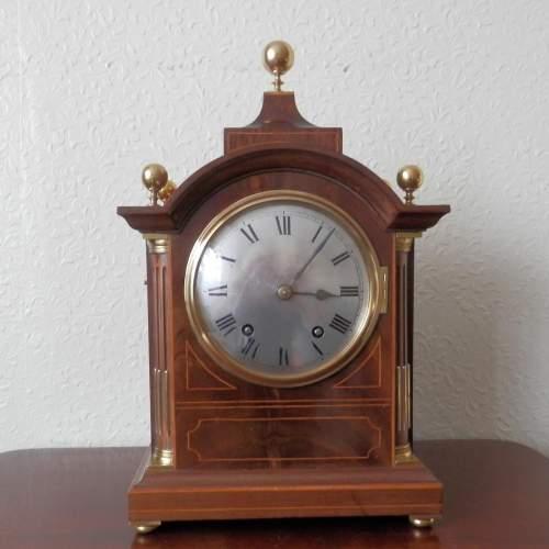 Mahogany Cased Clock by Winterhalder and Hofmeier image-2