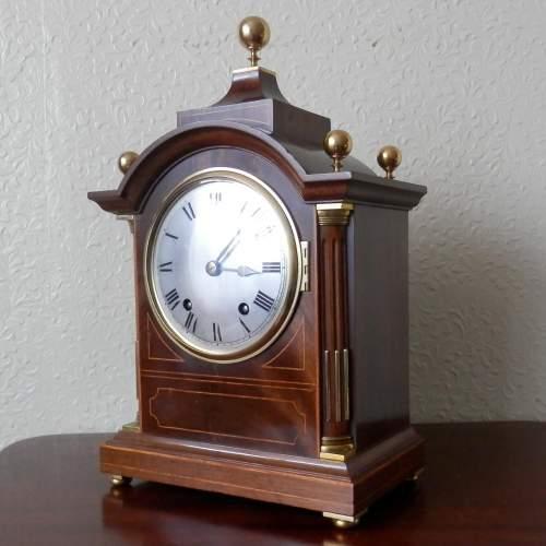 Mahogany Cased Clock by Winterhalder and Hofmeier image-1
