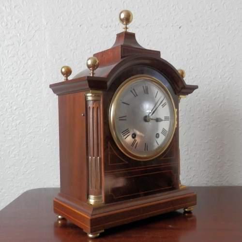 Mahogany Cased Clock by Winterhalder and Hofmeier image-3