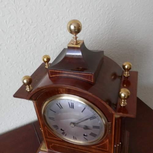 Mahogany Cased Clock by Winterhalder and Hofmeier image-5