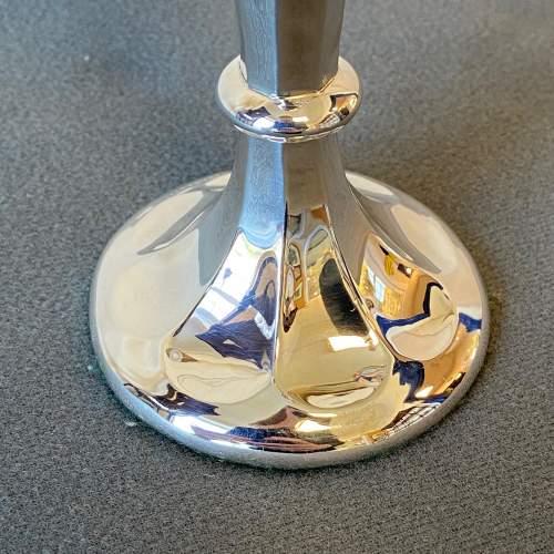 Early 20th Century Silver Specimen Vase image-2