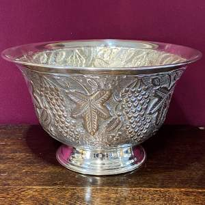 Large 19th Century Silver Plated Wine Cooler