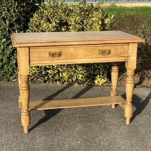 Victorian Pine Writing Desk or Side Table