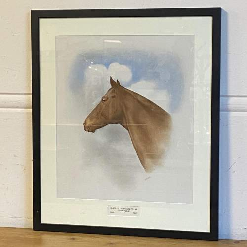 Horse Watercolour by Charles Snaffles Johnson Payne image-1