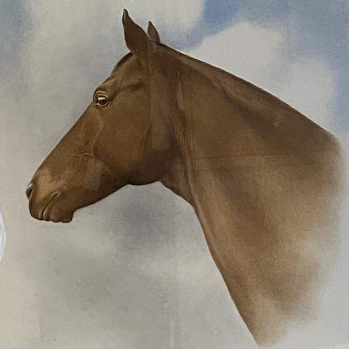 Horse Watercolour by Charles Snaffles Johnson Payne image-2