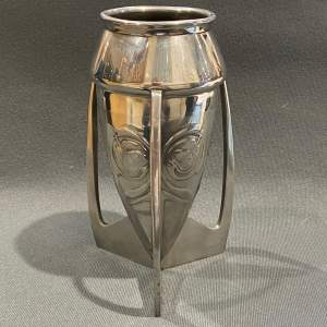 Liberty and Co Archibald Knox Tudric Pewter Vase