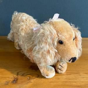 Vintage Steiff Dachshund Soft Toy