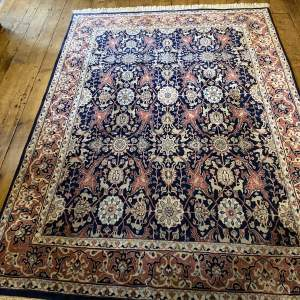 Superb Quality Hand Knotted Indo-Persian Rug Nain All Over Design