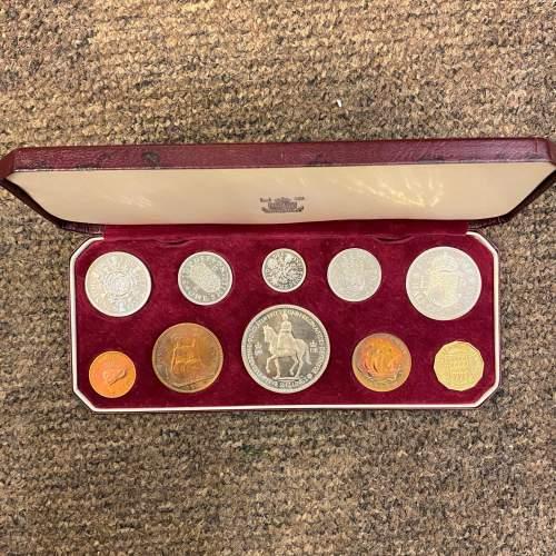 1953 Coronation 10 Coin Set image-1