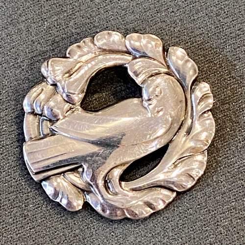 Georg Jensen Silver Dove Brooch image-1