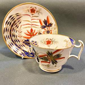 Regency Period Spode Cup and Saucer