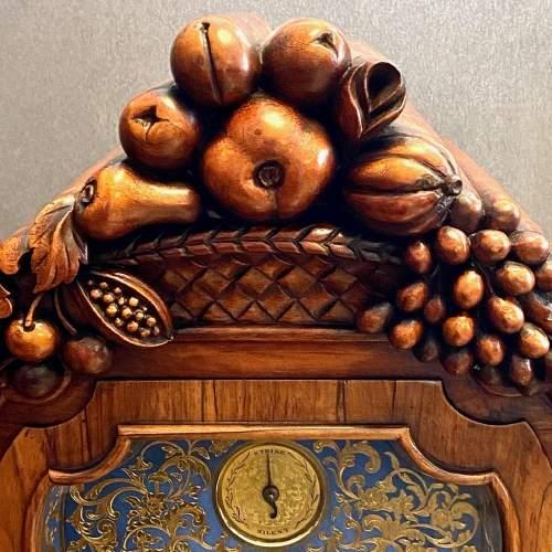 Stunning Early 19th Century Penlington Walnut Cased Boardroom Clock image-2