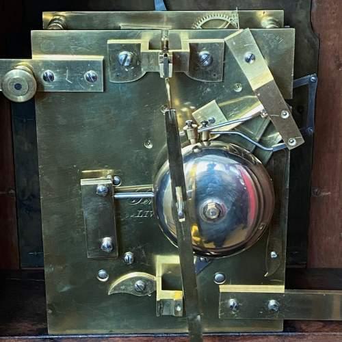 Stunning Early 19th Century Penlington Walnut Cased Boardroom Clock image-5