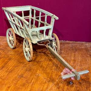 19th Century French Childs Cart