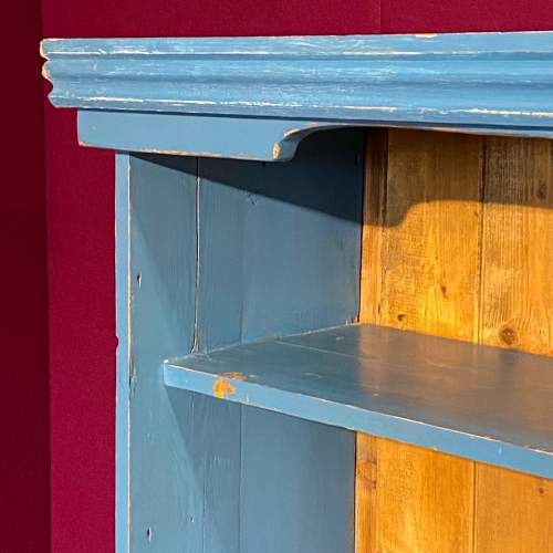 Mid 20th Century Painted Pine Bookcase image-2