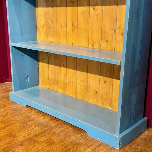 Mid 20th Century Painted Pine Bookcase image-3