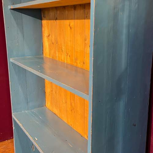Mid 20th Century Painted Pine Bookcase image-4
